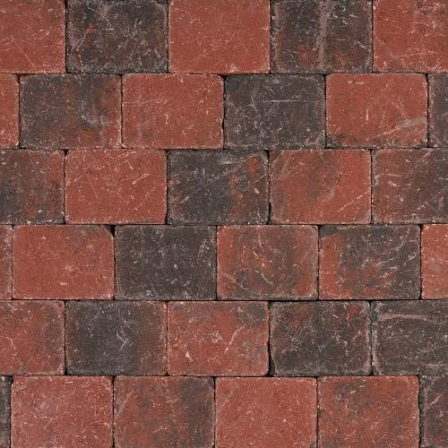Tambour Rood-Zwart