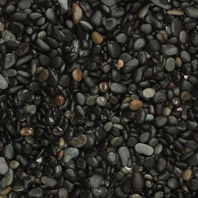 Beach Pebbles zwart 8-16mm